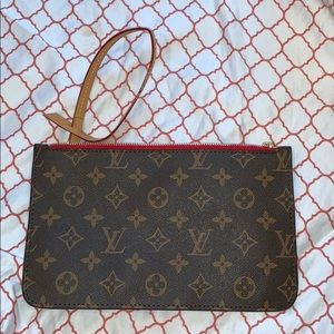NWOT Louis Vuitton Clutch
